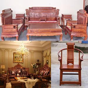 回收红木家具 红木沙发 红木茶桌  红木椅子