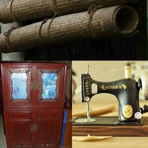 回收农村各种老式家具 农村老式柜子 织布机 缝纫机